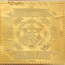 Haridra Ganesha Yantra from Rudrapuja