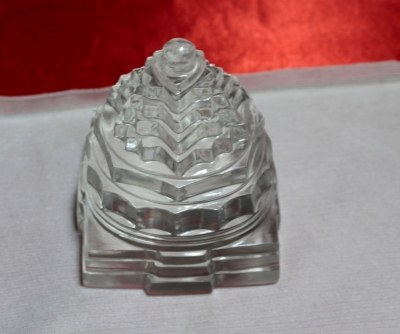 Sphatik Shri Yantra 300 gm