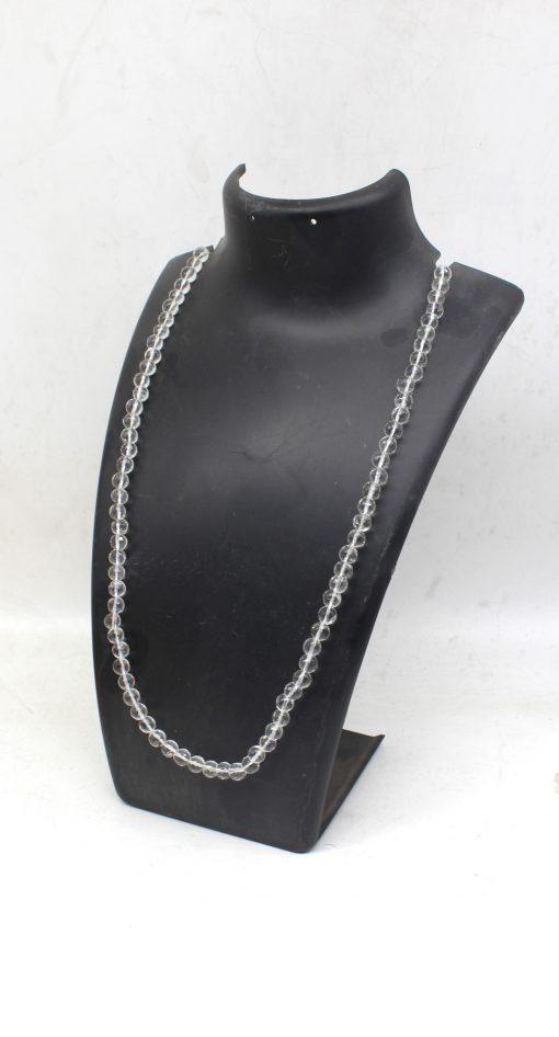 7 MM Crystal Diamond Cut Mala