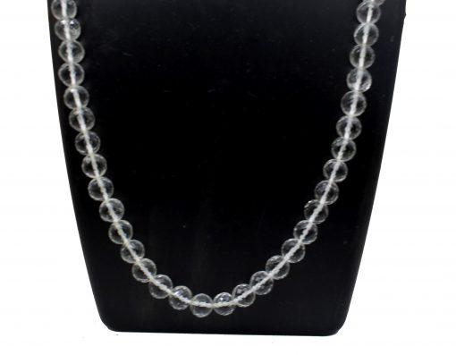 9 MM Crystal Diamond Cut Mala