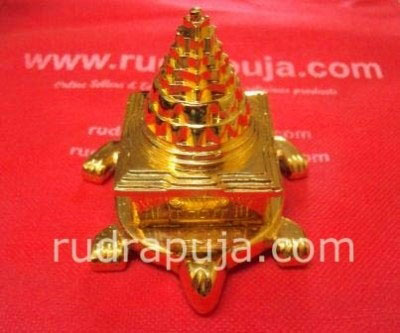 Kashyap Meru Shri Yantra 3 Inch