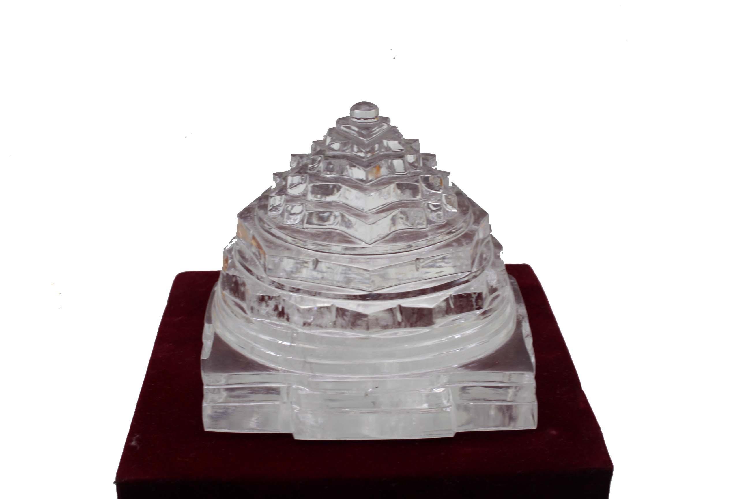 Big Size 1 kg Sphatik Meru Shri Yantra