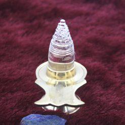 Crystal Lingam Shree yantra