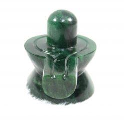 Green Jade Shivling