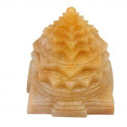 Yellow Jade Shri Yantra