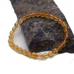 Citrine Faceted Bracelet 10 mm
